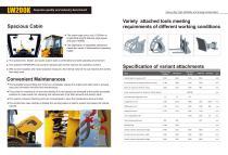 XCMG  Wheel loader LW200K construction - 4