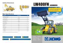 XCMG Wheel Loader LW400FN - 1