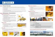 XCMG  wheel loader LW400KN construction - 2