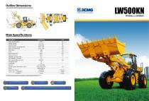 XCMG  Wheel loader LW500KN construction - 1