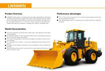 XCMG  Wheel loader LW500KN construction - 2