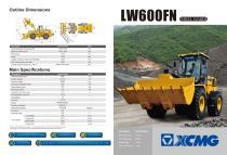XCMG Wheel Loader LW600FN - 1