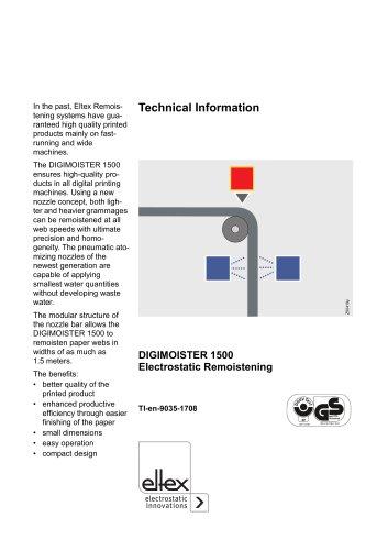 Technical information DM1500