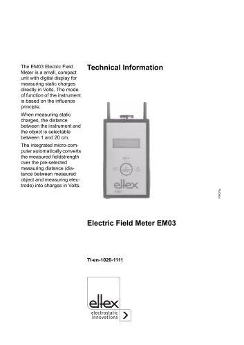Technical information EM03