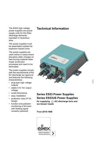 Technical information ES53
