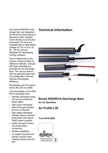 Technical information R50-51A