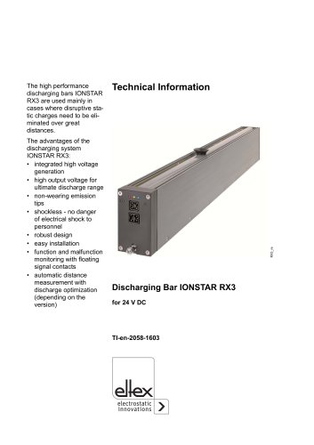 Technical information RX3