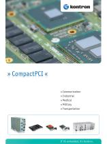 CompactPCI Product Brochure