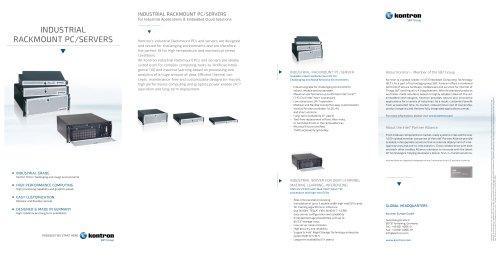INDUSTRIAL RACKMOUNT PC/SERVERS