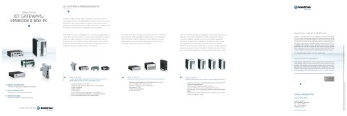 IOT GATEWAYS/EMBEDDED BOX PC