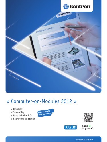 Kontron Embedded Modules Overview