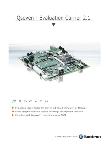 Qseven - Evaluation Carrier 2.1