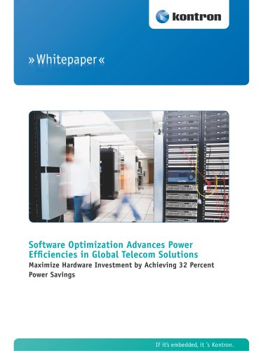 Software Optimization Advances Power Efficiencies in Global Telecom Solutions