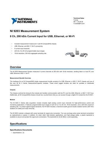 NI_9203_Measurement_System