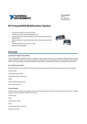NI_CompactDAQ_Multifunction_System