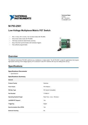 NI_PXI-2501