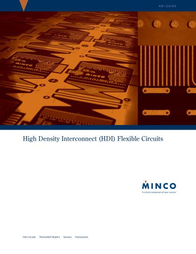 HDI (High Density Interconnect) Flexible Circuits Brochure