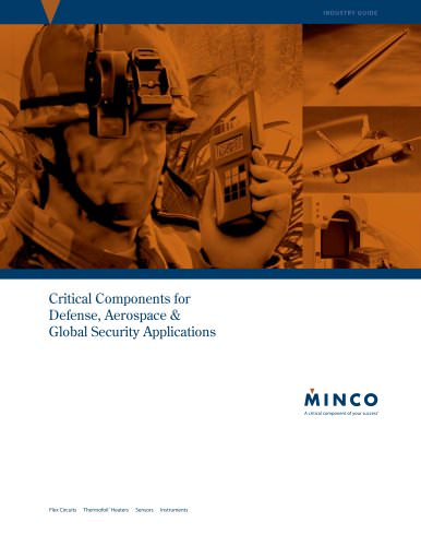 Minco Defense and Aerospace Industry Guide