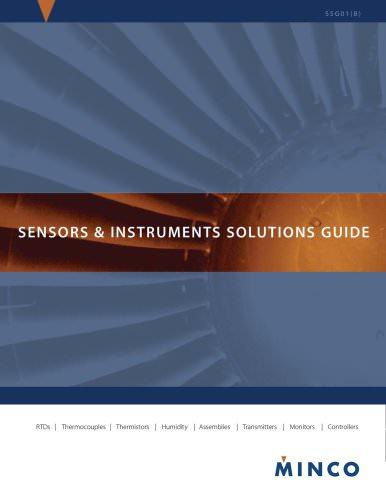 Sensors & Instruments Solutions Guide