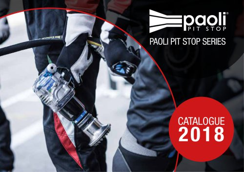2018 Paoli Pit Stop Series Catalogue