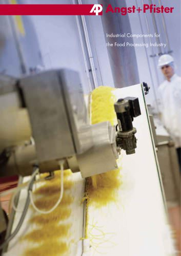 Industrial Components for the Food Processing Industry