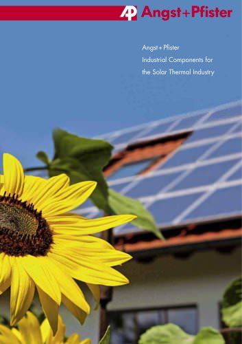 Industrial Components for the Solar Thermal Industry