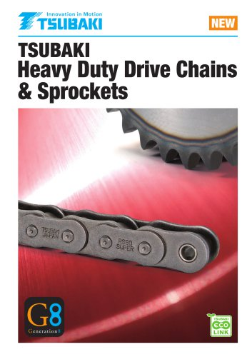 Heavy Duty Drive Chains & Sprockets G8