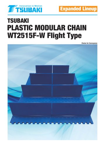 Plastic Modular Chain WT2515F-W Flight Type