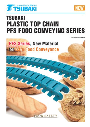 Plastic Top Chain PFS Food Conveying Series
