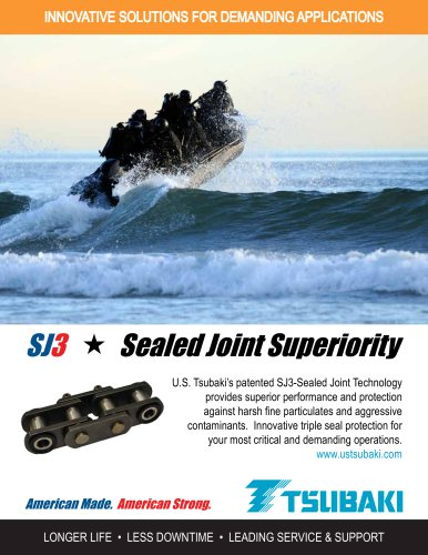 SJ3 Sealed Joint Technology