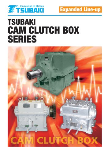 Tsubaki Cam Clutch Box Series