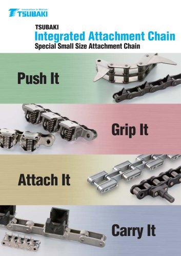 Tsubaki Integrated Attachment Chains
