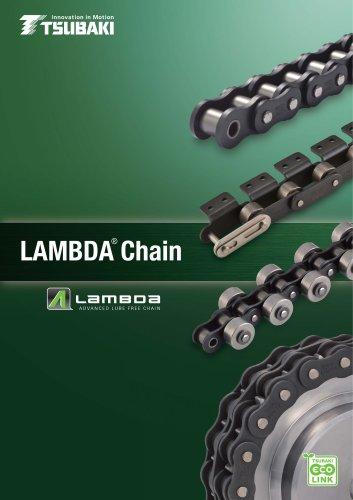 Tsubaki Lambda Chain Leaflet