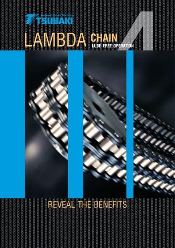 Tsubaki Lambda Lube Free Chain Brochure