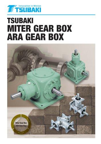 Tsubaki Miter Gear Box