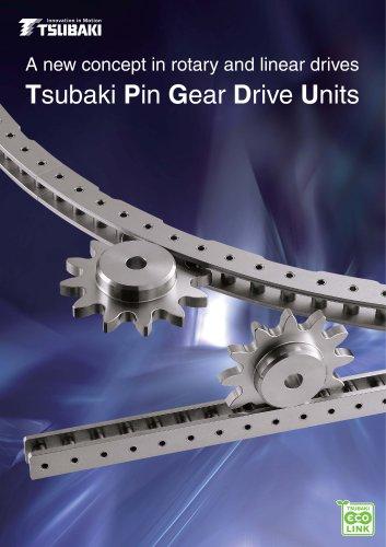 Tsubaki Pin Gear Drive Units