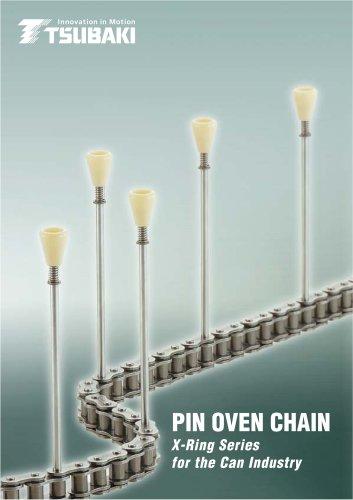 Tsubaki Pin Oven Chain