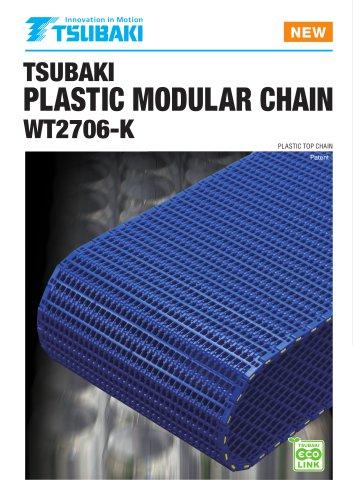 Tsubaki Plastic Modular Chain WT2706 Series