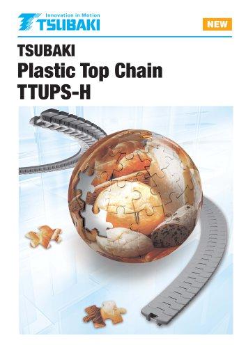 Tsubaki Plastic Top Chain TTUPS-H type