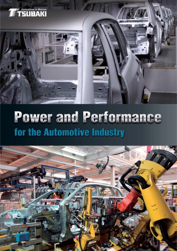 Tsubaki Power and Performance for the Automotive Industry