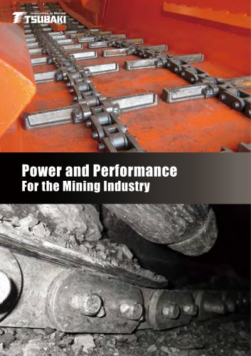 Tsubaki Power and Performance For the Mining Industry