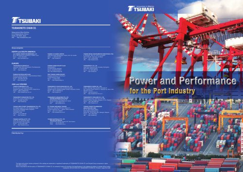 Tsubaki Power and Performance for the Port Industry