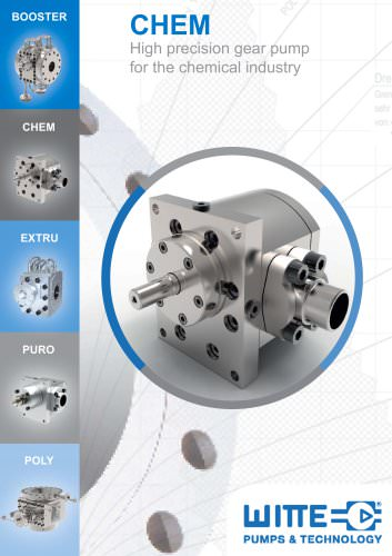 CHEM Gear pump for chemical industries