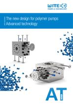 Polymer Discharge Pump for polymer extraction