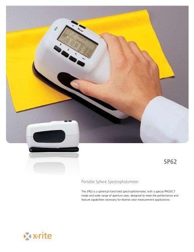 SP62 Portable Sphere Spectrophotometer