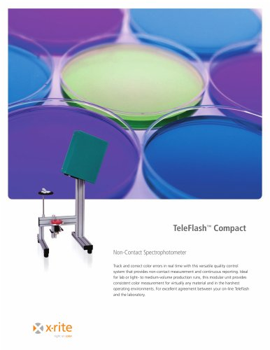 TeleFlash Compact Non-Contact Spectrophotometer
