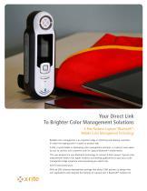 X-Rite Pantone Capsure™Bluetooth®: Mobile Color Management Technology - 1