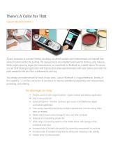 X-Rite Pantone Capsure™Bluetooth®: Mobile Color Management Technology - 2