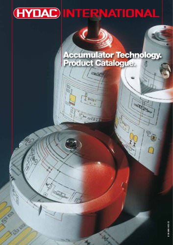 Accumulator Technology. Product Catalogue.