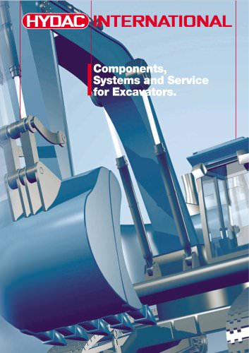 Components, Systems and Service for Excavators